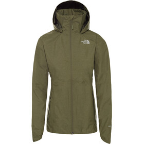 The North Face Inlux Dryvent Veste Femme, four leaf clover white heather